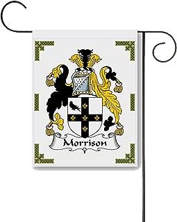 Carpe Diem Designs Morrison Coat of Arms/Morrison Family Crest 11 X 15 Garden Flag – Made in The U.S.A.