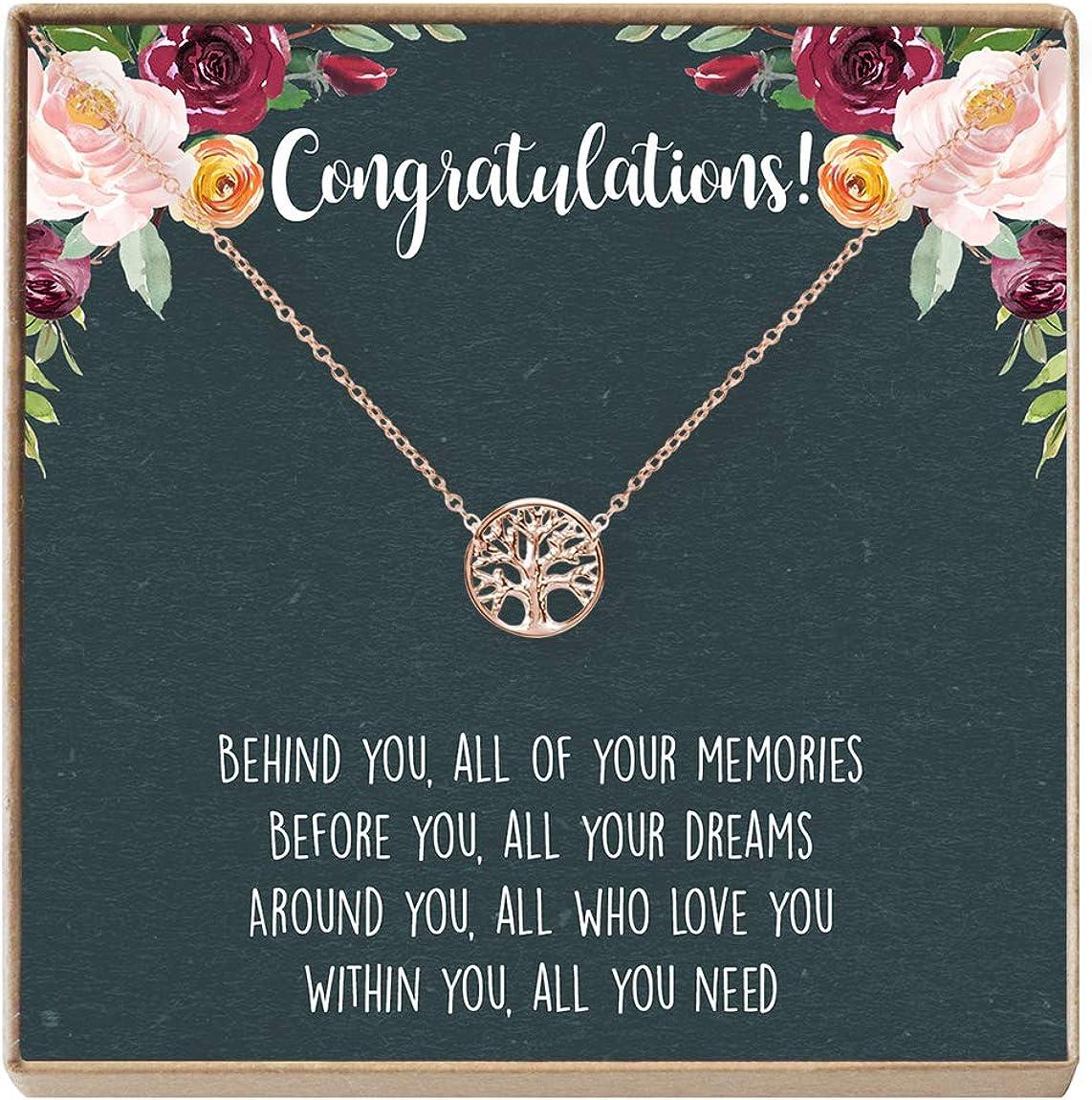 期間限定今なら送料無料 Graduation Necklace - Presents Heartfelt Card Gift 格安 Jewelry fo