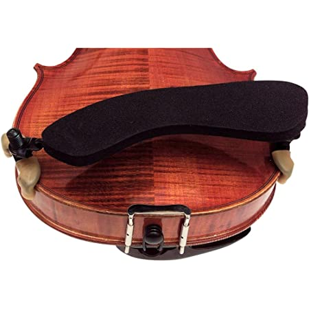 1//2 /& 1//4 3//4 Violin Chin Rest and Bracket By Zest in 1//2 size Hardwood Violin Chin Rest also available in 4//4