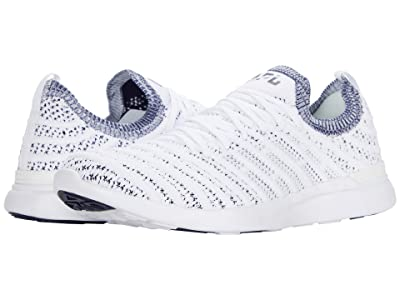 Athletic Propulsion Labs (APL) Techloom Wave (White/Navy) Men