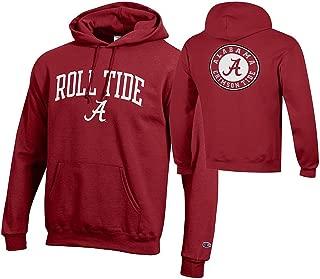 NCAA Men's Front/Back Team Hoodie Sweatshirt