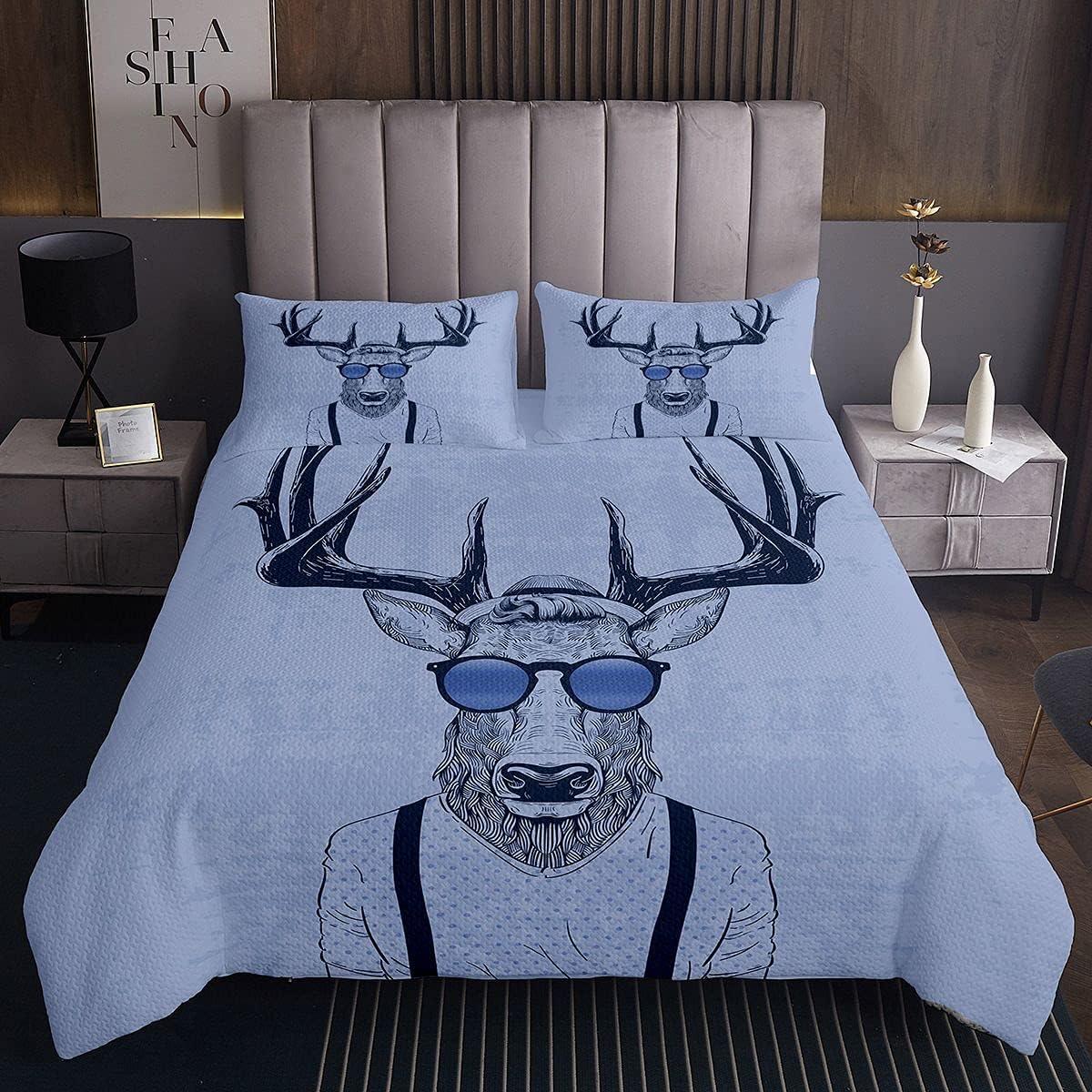 Highland Cow Bull Bedspread Western Qui Portrait Wildlife Animer and price revision Animal Elegant