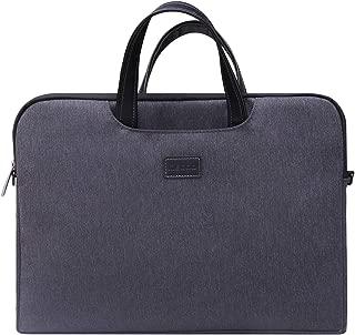 Megoo Laptop Handbag Briefcase with Hidden Handle and Removable Shoulder Strap for Surface Pro 7/6/5/4/3, Surface Laptop/Book 2 13.5 15 12 Laptop Chromebook Briefcase