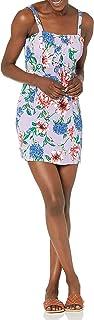 Parker womens Imogen Lace Up Shift Dress Dress