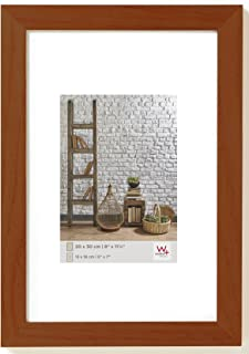 Walther Design TA824N Natura Wooden Picture Frame, 7 x 9.50 inch (18 x 24 cm), Walnut