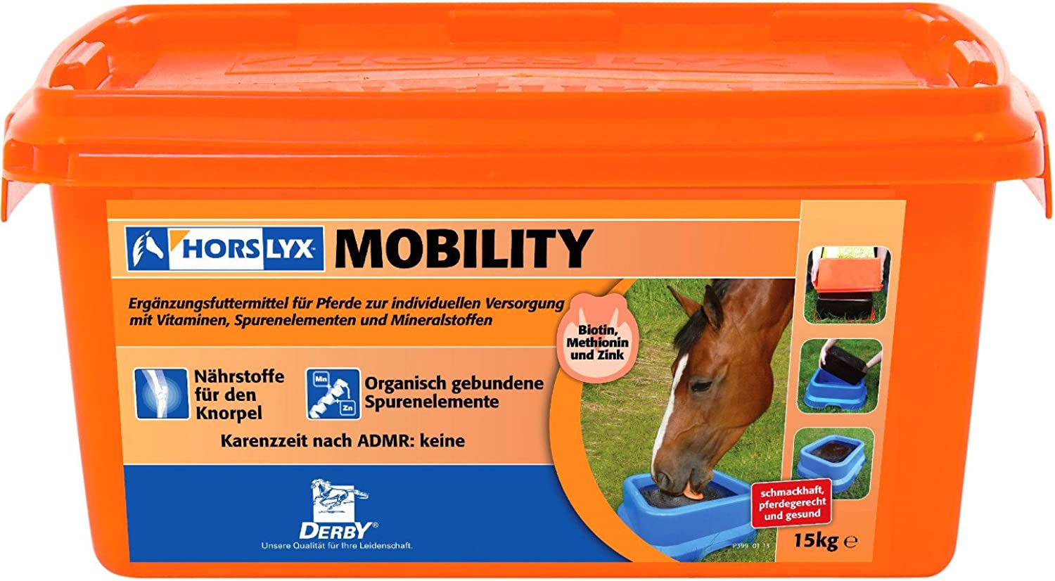 Derby horslyx Mobility 15 kg