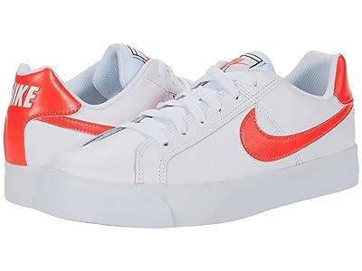Nike Court Royale AC (White/Flash Crimson/Gum Light Brown) Women