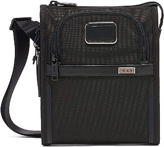 TUMI Unisex Alpha Bag Shoulder Bag Crossbody, Color Black, Size