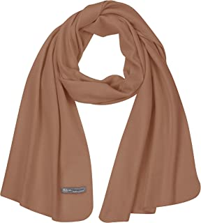 PuTian Womens Scarf 100 Merino Wool Wrap Women Pashmina Shawl Neckwear with GiftBox