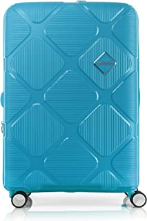 American Tourister Instagon Hardside Spinner Suitcase, 69 Centimeter, Turquoise