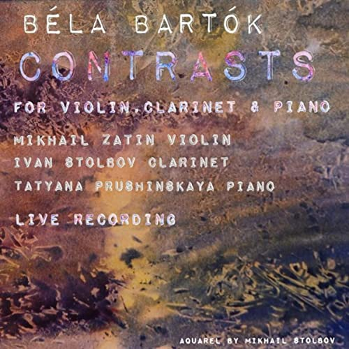 Contrasts for Violin, Clarinet and Piano, Sz 111: III  Sebes