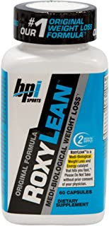 BPI Sports -Roxylean Extreme Fat Burner and Weight Loss Supplement, 60 Count