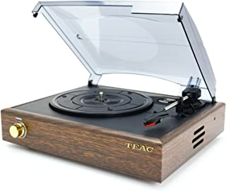 TEAC Turntable with Bluetooth, Wooden Walnut (TTDEDS2018D)