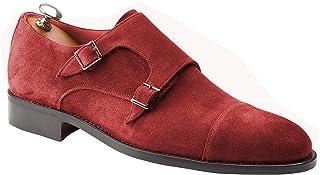 Handamade Italiano Zapatos de Hombre Monje Doble Hebilla Blake Rapid - A medida - Monsano