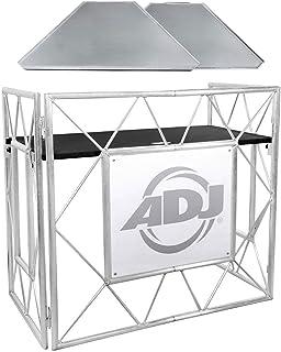 $389 » American DJ Pro Event Table II Foldable Portable DJ Booth Truss Facade+Shelves