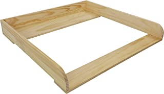 comprar comparacion ¡Madera natural! Cambiador superior adecuado para todas las cómodas Malm de IKEA