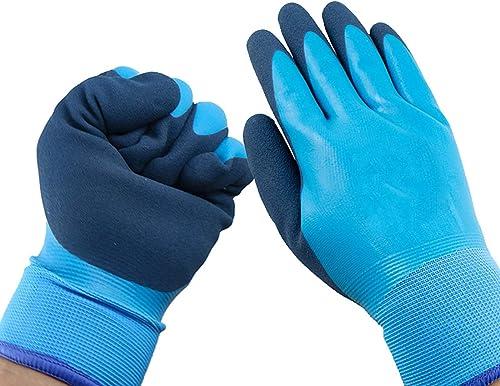 2021 Freezer outlet online sale Winter Work online sale Gloves, Fleece Lining, Cold Weather Gloves, Tight Grip Palms, Waterproof Winter Work Gloves, Outdoor Cold Weather Working Gloves, Elastic Cuff online sale