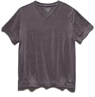 Men's Kinston Burnout Tee Shirt – V-Neck