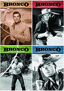 Bronco: Complete Western TV Series Seasons 1-4 Collection