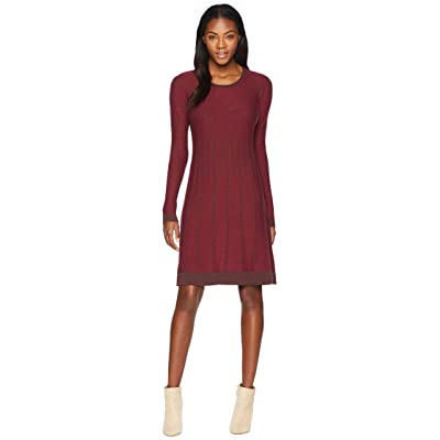 Aventura Clothing Malina Dress (Tibetan Red/Rain Drum) Women