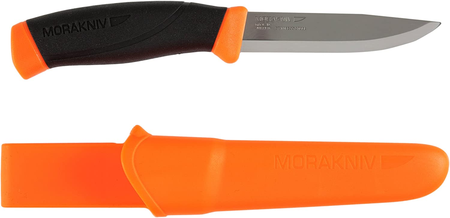 Morakniv Companion Max 88% OFF Fixed Blade Outdoor Regular discount Stainl Knife with Sandvik