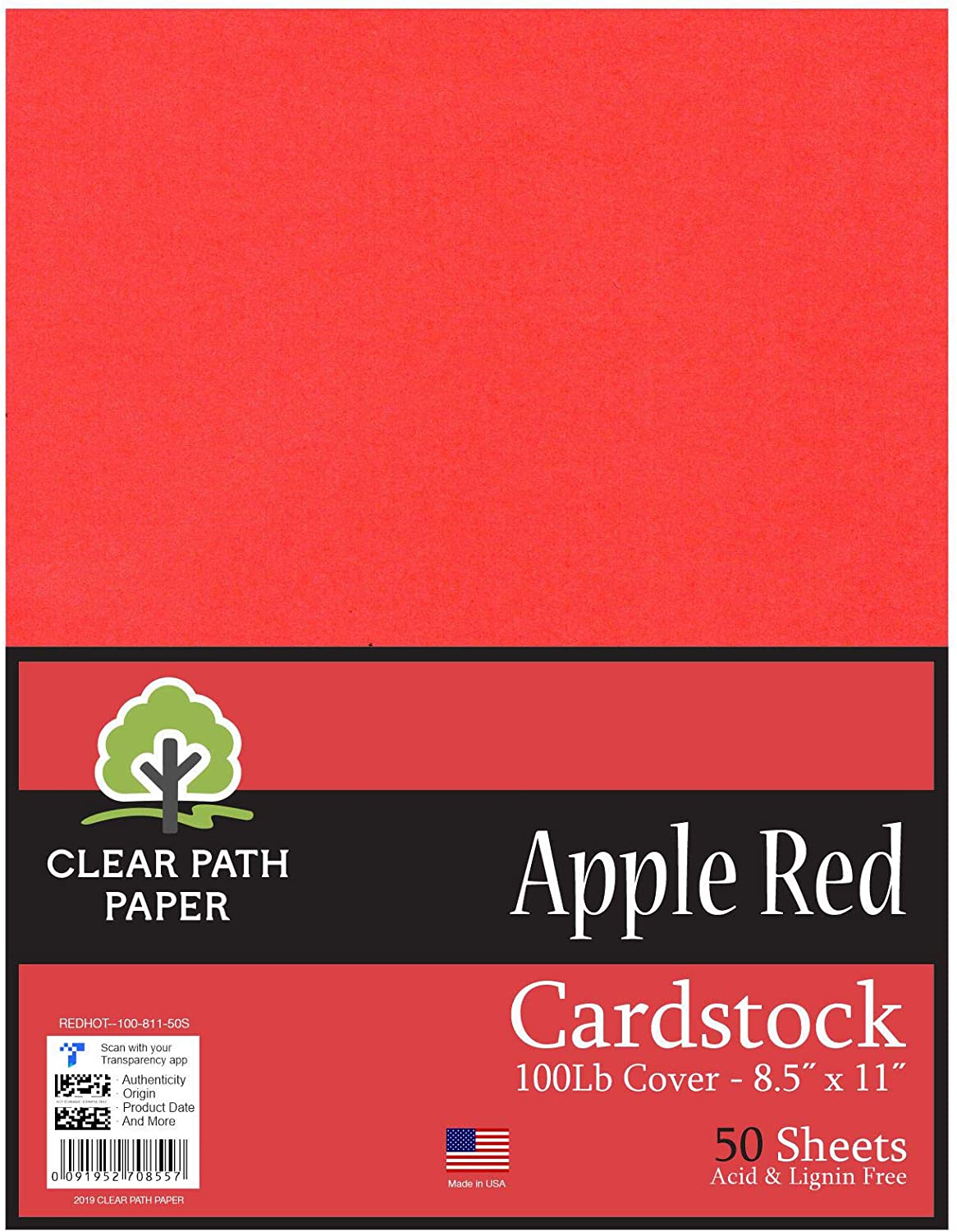 Apple Red Formerly All stores are sold Hot Cardstock - Max 46% OFF 8.5 inch 11 x C 100Lb