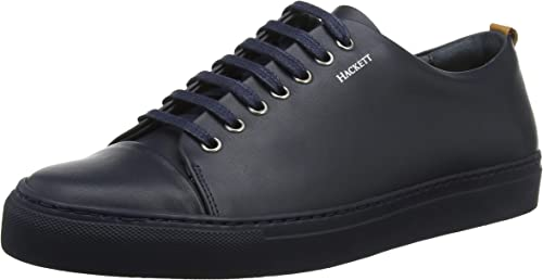 Hackett London Laceup 7hole Tonal Cup, paniers Homme