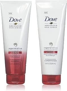 Dove Regenerative Nourishment Shampoo and Conditioner Set, 8.45 FL OZ each