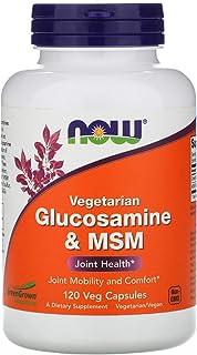 Now Foods, Vegetarian Glucosamine & MSM, 120 Veg Capsules