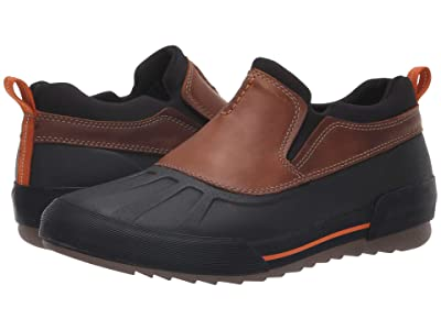 Clarks Bowman Free (Dark Tan Leather) Men