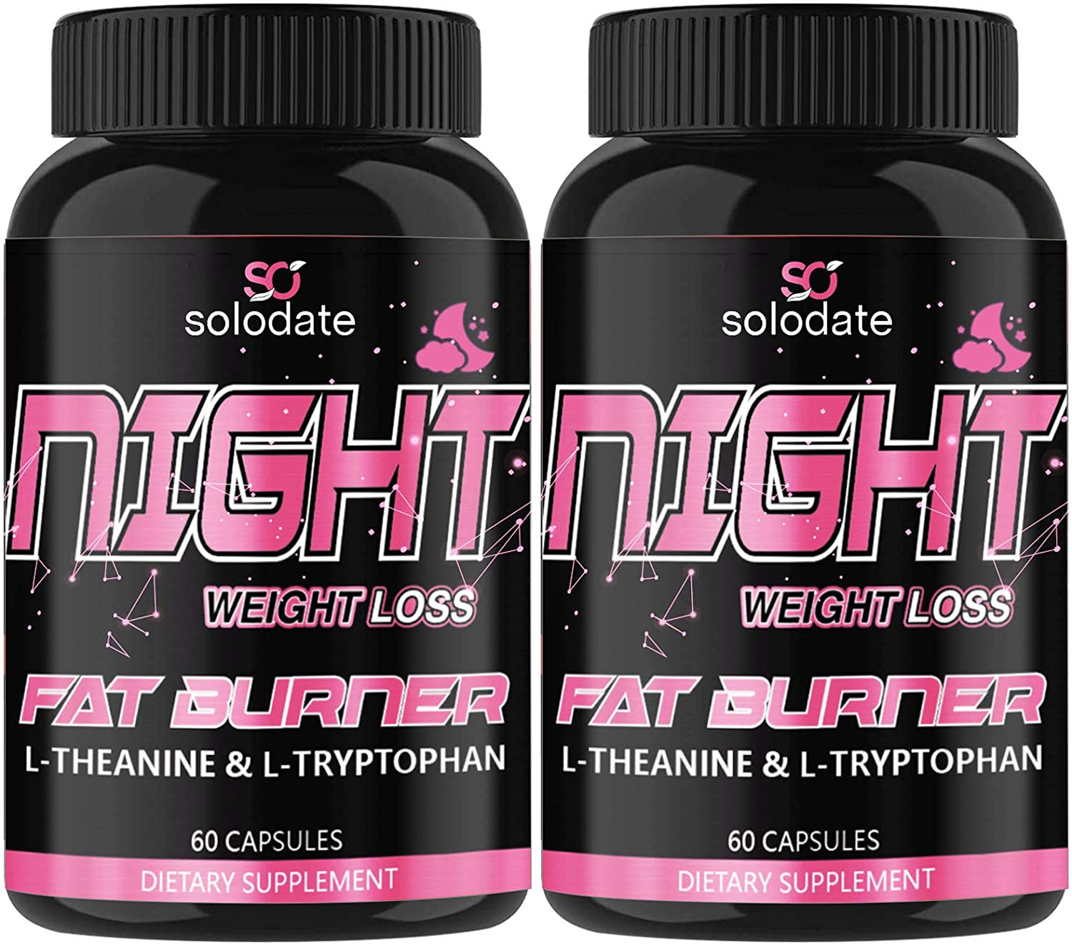New York Mall 2 Pack Night Inexpensive Time Fat Burner Sleep and Aid Appetite Suppressant