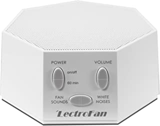 Adaptive Sound Technologies LectroFan High Fidelity White Noise Machine with 20 Unique Non-Looping Fan and White Noise Sou...