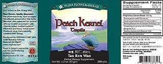 Peach Kernel Teapills (Tao Ren Wan), 200 ct, Plum Flower
