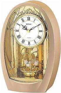 Rhythm 4RH742WD08 Contemporary Motion Clock, Gold