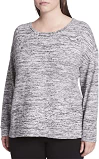 Calvin Klein Women's Plus Performance Drop Shoulder Shirt