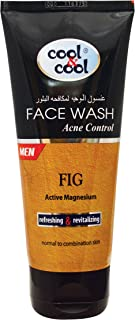 Cool & Cool Acne Control Face Wash for Men, 75 ml