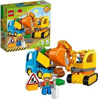 LEGO DUPLO Town - Camión y Excavadora