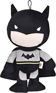 DC Comics Batman Plush Figure Dog Toy| 12-Inch Squeaky Plush Dog Toys, Great for All Dogs | Fun and Adorable Superhero Squ...