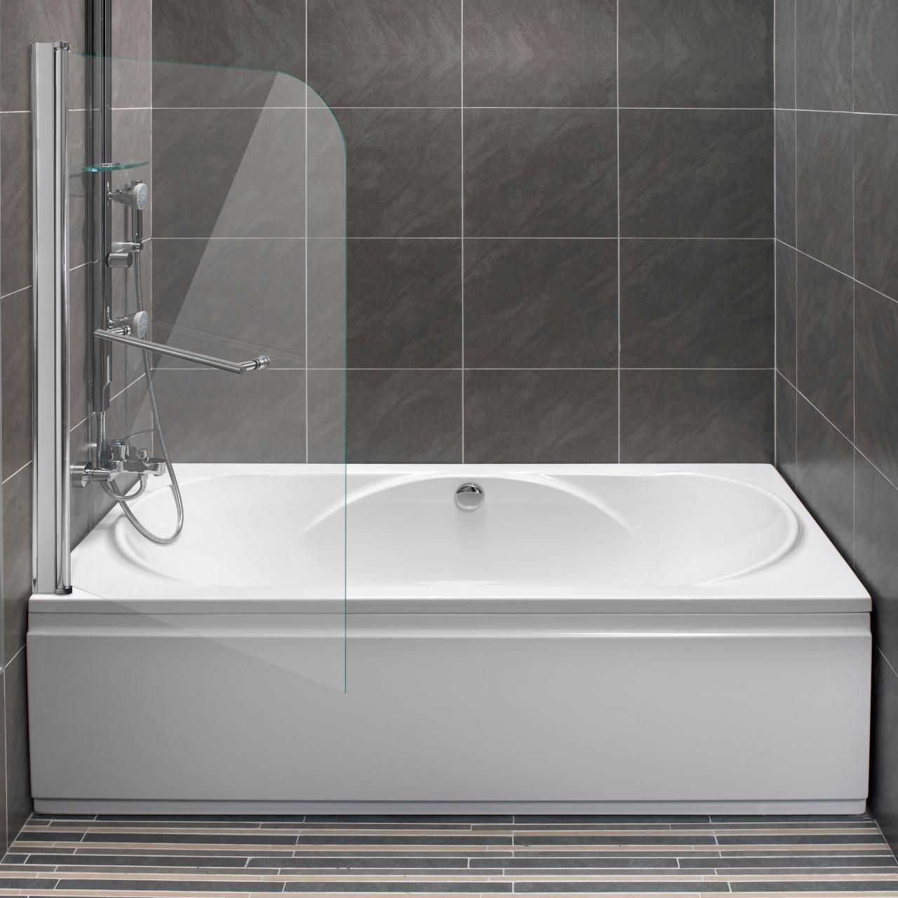 Home Lux – Mampara para bañera plegable pared faltdusch pared ...
