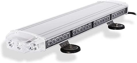 Condor TIR Emergency 3 Watt Low Profile Magnetic Roof Mount Mini LED Light bar 23in (Amber/White)