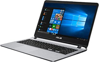 Asus Vivobook X507UB-EJ296T Laptop (Grey)- Intel Core i7-8550U,8GB RAM,1TB HDD,15.6 FHD,2 GB  NVIDIA  MX110, Windows 10, Eng-Arb-KB