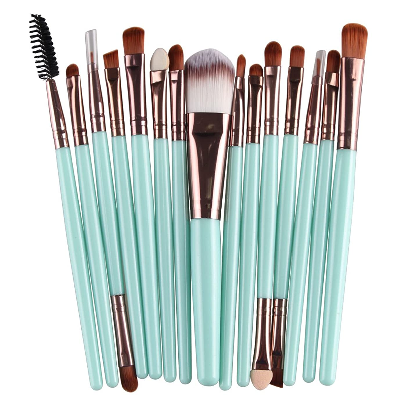 適用済み辛な抑止するProfessional Pro 15 Pcs/Sets Eye Shadow Foundation Eyebrow Lip Brush Makeup Brushes Cosmetic Tool Make Up Eye Brushes Set