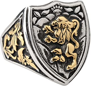 Best lion shield ring Reviews