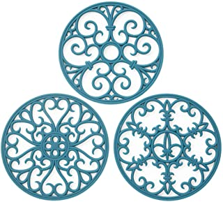 Silicone Trivet Mat – Non-Slip & Heat Resistant Kitchen Hot Pads for..