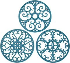 Silicone Trivet Mat - Non-Slip & Heat Resistant Kitchen Hot Pads for Countertops & Table - Kitchen Trivets for Hot Dishes...