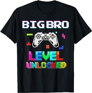New Big Brother Level Unlocked Funny Big Bro T-Shirt