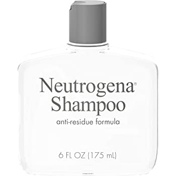 Neutrogena Anti-Residue Clarifying Shampoo, Gentle Non-Irritating Clarifying Shampoo to Remove Hair Build-Up & Residue, 6 fl. oz