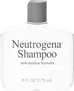Neutrogena Anti-Residue Clarifying Shampoo, Gentle Non-Irritating Clarifying Shampoo to Remove Hair Build-Up & Residue, 6 ...