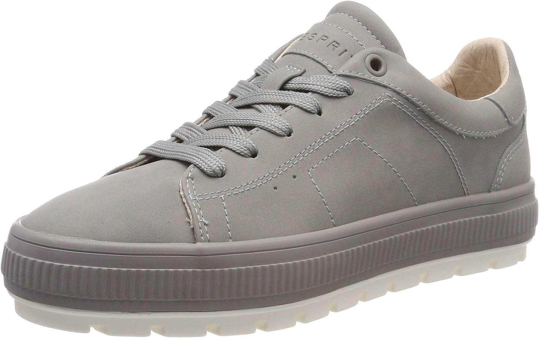 ESPRIT Women's Filo Plat Lu Low-Top Sneakers