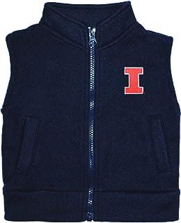 Creative Knitwear University of Illinois Fighting Illini Baby and Toddler Polar Fleece Vest